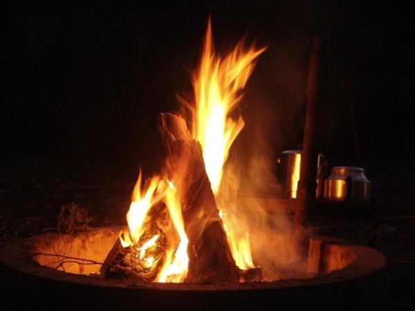 Campfire, April 2008