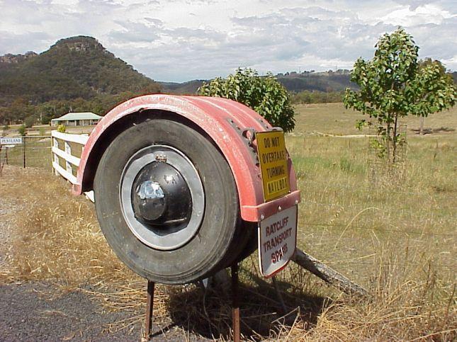 Castlereigh Highway near Mudgee, NSW 2002