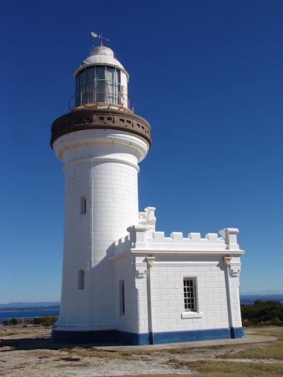 Point Perpendicular Lighthouse Jervis Bay, NSW Australia December 2012