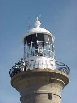 Lantern of Montague Island lighthouse 2003