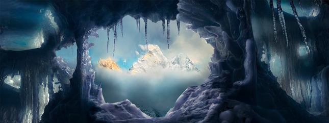 The Ice Prison The Himalayas, Nepal 2015 Epson International Pano Award Winner